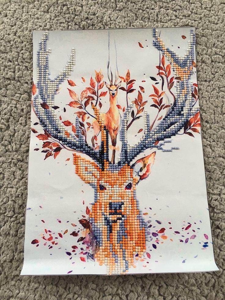 Diamond painting deer not framed diamond painting art