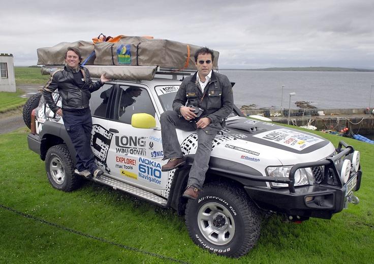 Nissan Patrol travel