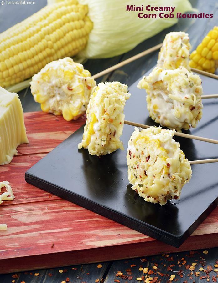 The 14 best corn recipes veg baby corn recipes indian images on mini creamy corn cob roundels forumfinder Choice Image
