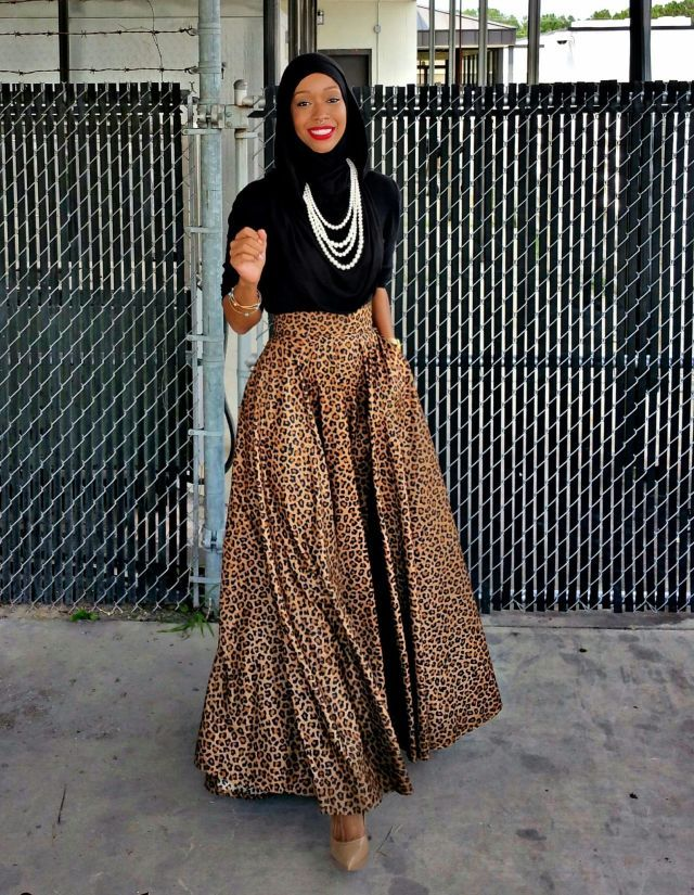 Omgoodness the skirt! 12 Muslim Women Shatter Stereotypes by Showing Off Their Style