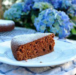 Torta Cioccolato e Mandorle  #italianfood #recipes #chocolate