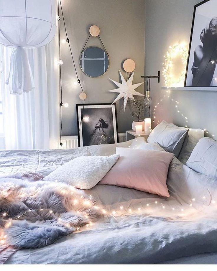 Romantyczne dekoracje świetlne w aranżacji sypialni