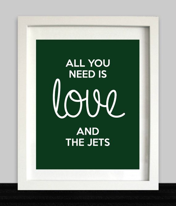 New York Jets // All You Need is Love and The Jets by NothingPanda