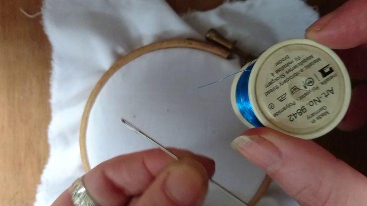 Embroidery Basics 3 - Needles. Which Needle Should I Use? Beginner Craft...