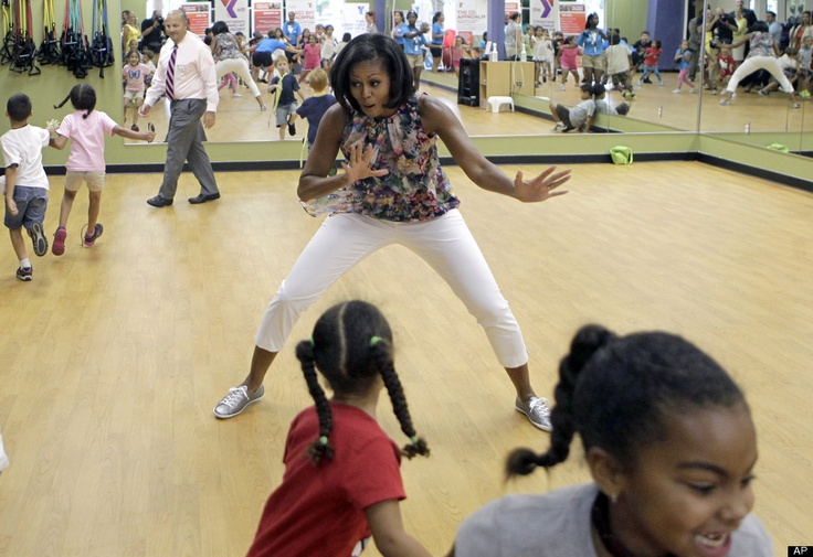 Michelle Obama, for her participation in the Childhood Obesity Project @ getmoving.org