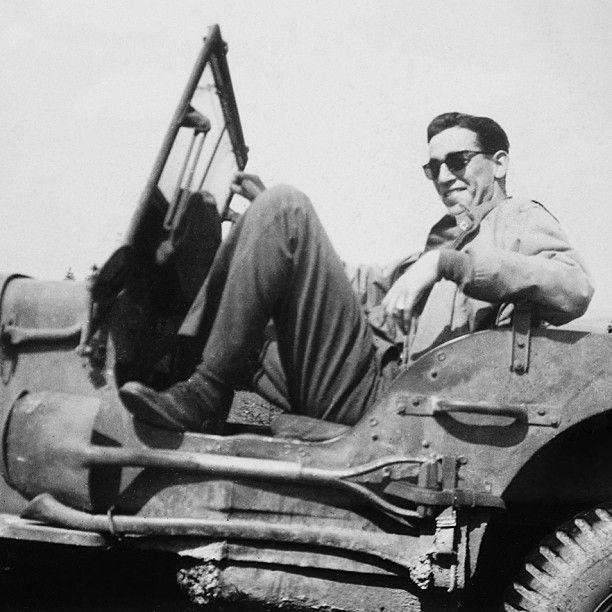J.D. Salinger during the liberation of Paris, 1944