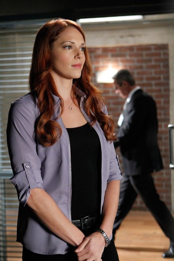Grace is soo pretty =)  and I love her hair  The Mentalist