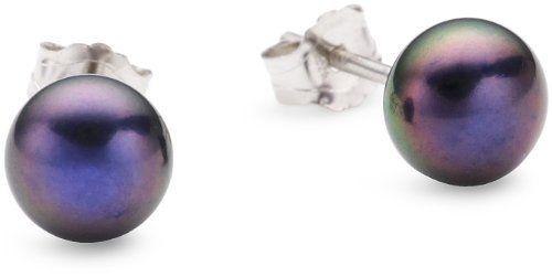 Valero Pearls – 178850 – Boucles d'oreilles clous Femme – Argent 925/1000 – Perles de culture d'eau douce | Your #1 Source for Jewelry and A...