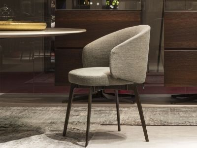 LEMA | A combination of contemporary thought and vintage spirit, Bea by Robert Lazzeroni is a small armchair with a minimal, refined soul. Perfect for contract contexts requiring an ideal family of universal seating.