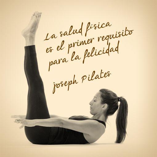 Frase de Joseph Pilates