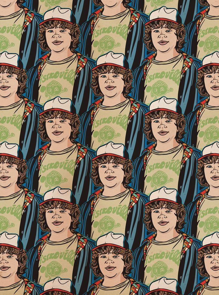 Dustin Henderson Pattern - Stranger Things