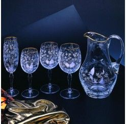 Cristaler a de 12 servicios y 48 piezas en cristal de - Cristalerias de bohemia ...