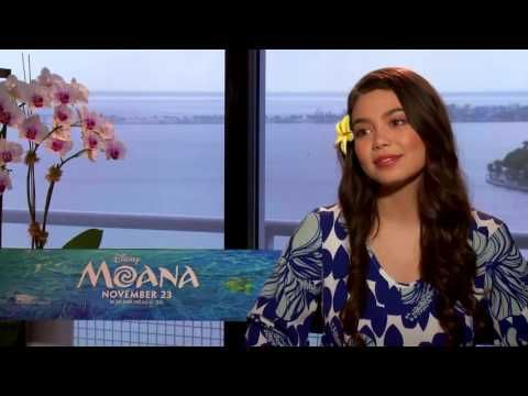 Interview with Auli'i Cravalho, voice of Moana conducted by KIDS FIRST! Film Critic Michelle C. #KIDSFIRST! #Disney #Moana