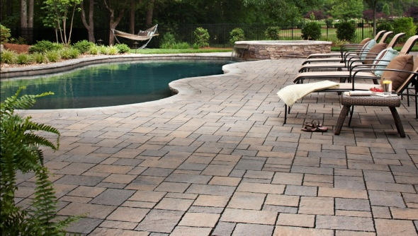 17 best images about block brick concrete pavers stone for Belgard urbana pavers