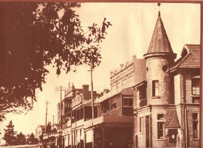 The old Kogarah Post Office in 1915, which is now a Community Centre