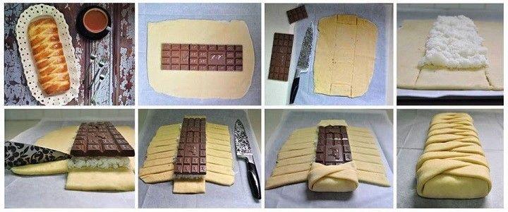 Kókuszos - csokoládés kalács - EL finom
