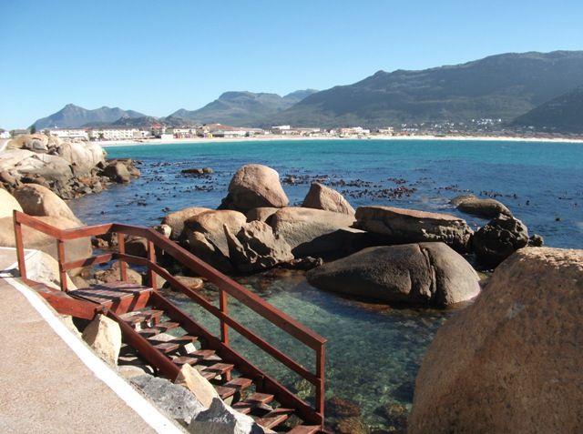 Natural tidal pool near Fish Hoek, Cape Town