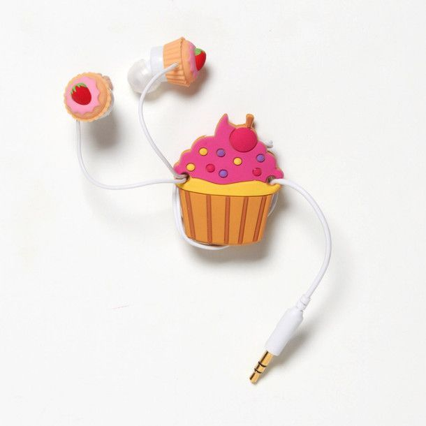 Holiday tech gifts for kids: Cupcake Earbuds | Cool Mom Tech