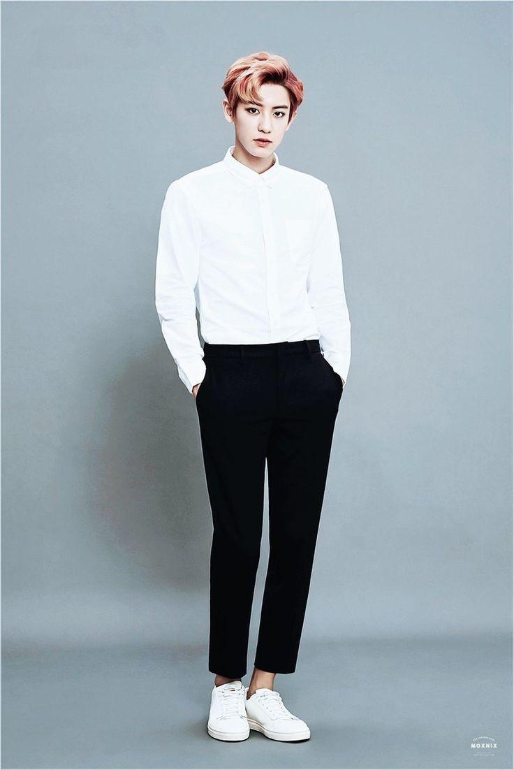 #chanyeol #チャニョル #灿烈 #朴灿烈 #찬열 #박찬열 #pcy #parkchanyel #exochanyeol #exo #proudofyoupcy #kpopidol #Kpop #Koreanstar #kpopstar #spao #model #whiteshirts #redhair
