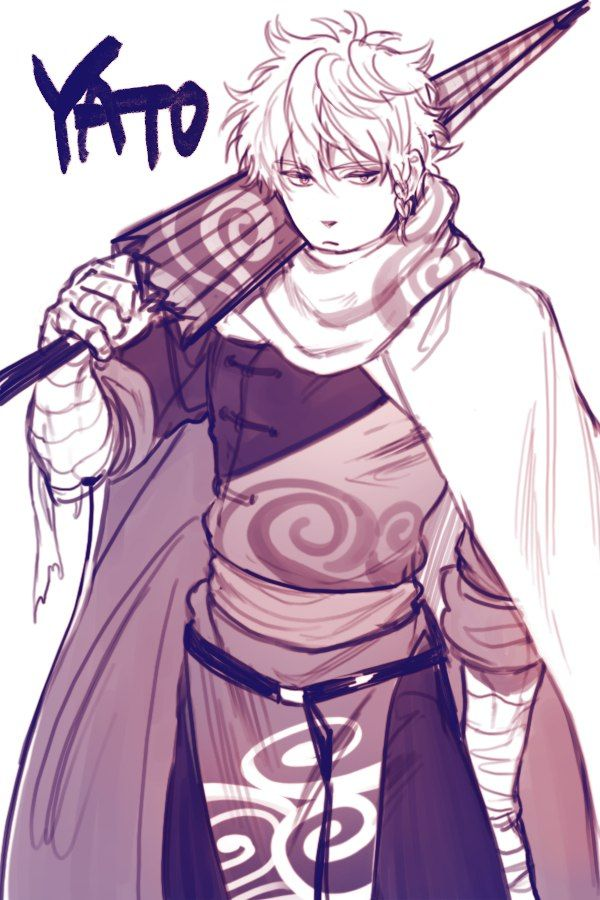 If gin San was from the yato clan <3