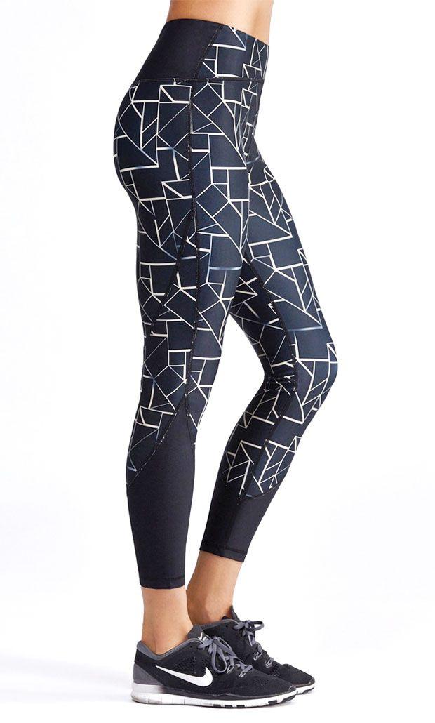Yoga Bukser Med Design På Dem