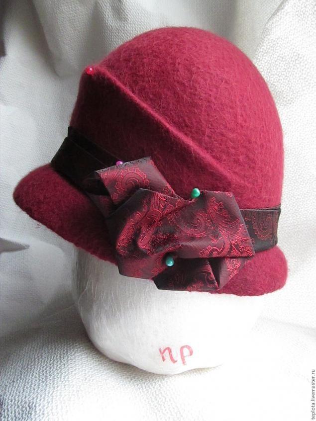 "Felted hat photo tutorial Мастер-Класс по валянию шляпки ""Дамы валяют клош!!!!"" - Ярмарка Мастеров - ручная работа, handmade"