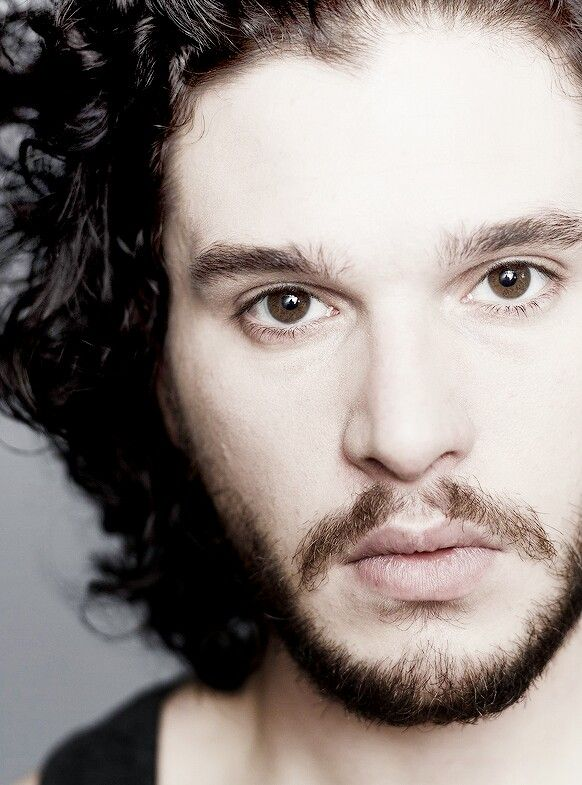 Those eyes ...like melted chocolate... Kit Harington