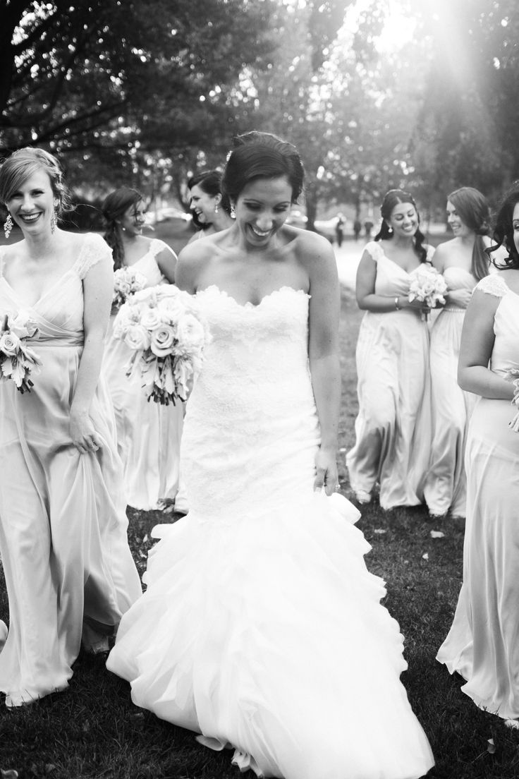 Bride - Bridesmaids - Melissa Gentile Couture - Champs Elysees Gown in Ivory