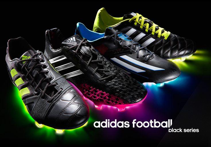 Pro-Direct Soccer - adidas Black Pack Football Boots, Pitch Black, Predator, adiZero, 11Pro