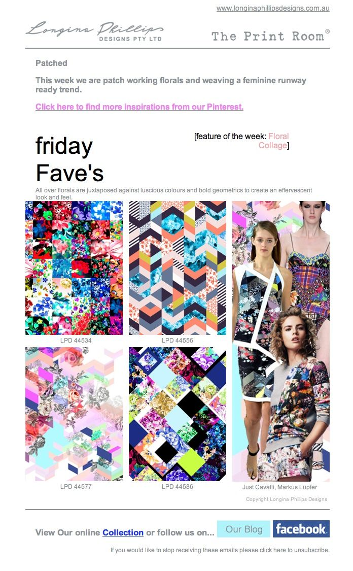 friday Fave's 4th October 2013