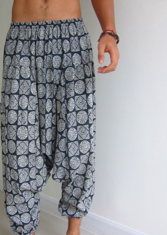 sewing pattern harem pants; it is NOT for a finished item