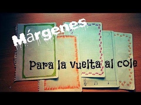 Márgenes para cuadernos/ Vuelta al cole ( Muy fáciles y bonitos) - Anahí …