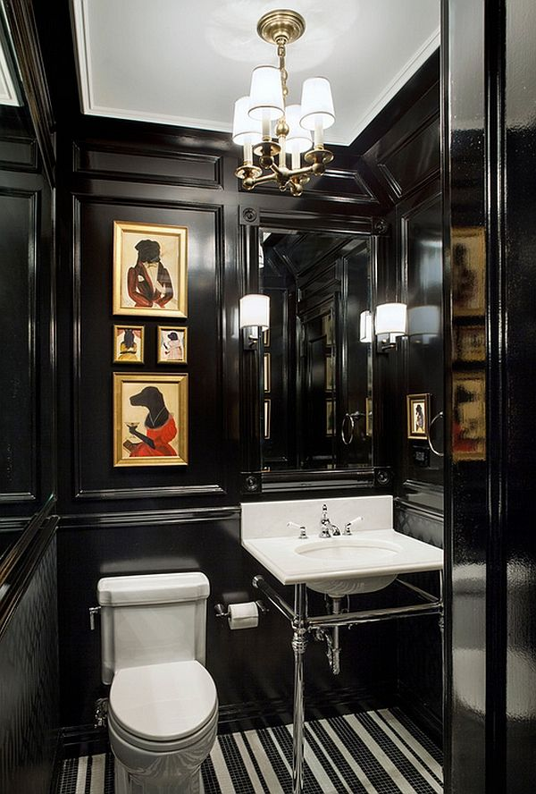 20 best Victorian Powder Room images on Pinterest | Bathroom ...