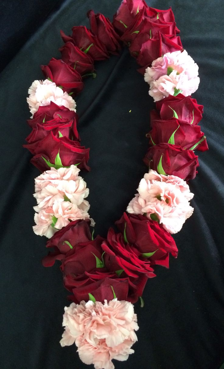 Rose garland made by everything rosy ltd www.rosyltd.com