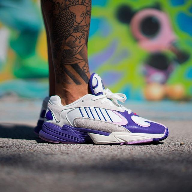 "e07dcfbab  Dragon Ball Z  x adidas Yung-1 ""Frieza"" 🔮 One of my favorite pairs from  the upcoming DGZ x adidas Collection 📸  solebyjc x  jorgecastillejos  Highest ..."