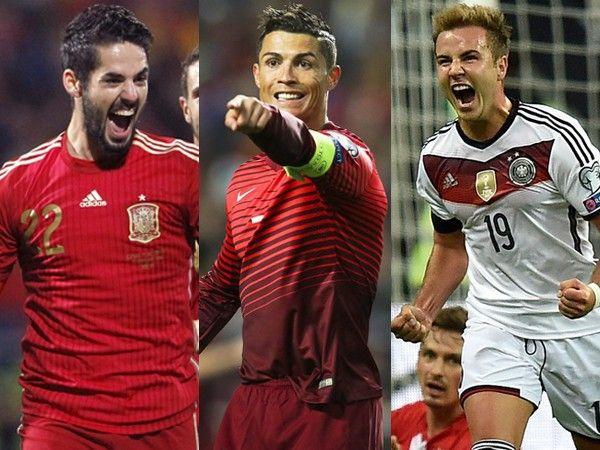 España, Portugal y Alemania pueden asegurar esta fecha el boleto a la Eurocopa 2016. Octubre 09, 2015.