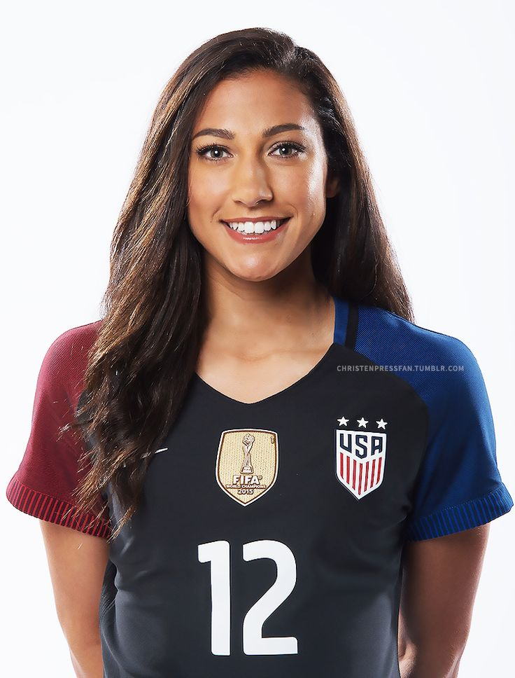 Christen Press!!!! A Red Star! I remember getting her autograph when she just dreamed of the National Team! Look how far she has come, still inspiring me through soccer!