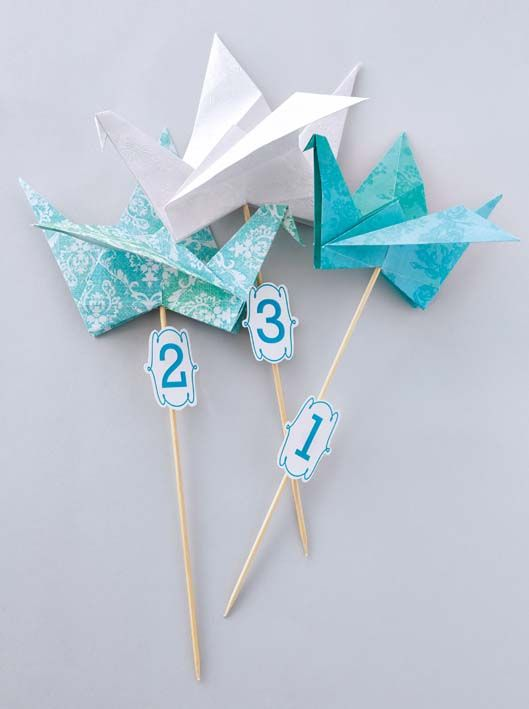 Crane table numbers