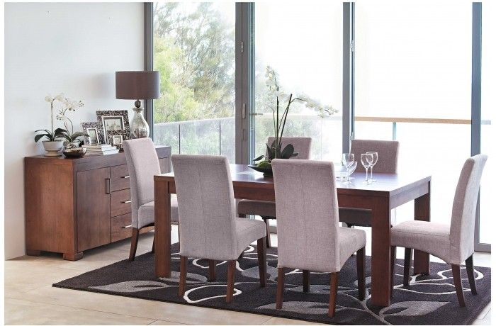 Sirocco 7 piece dining setting harvey norman dining for Dining room tables harvey norman