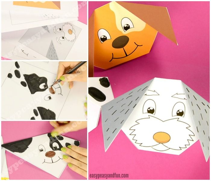 How To Make An Origami Dog Origami