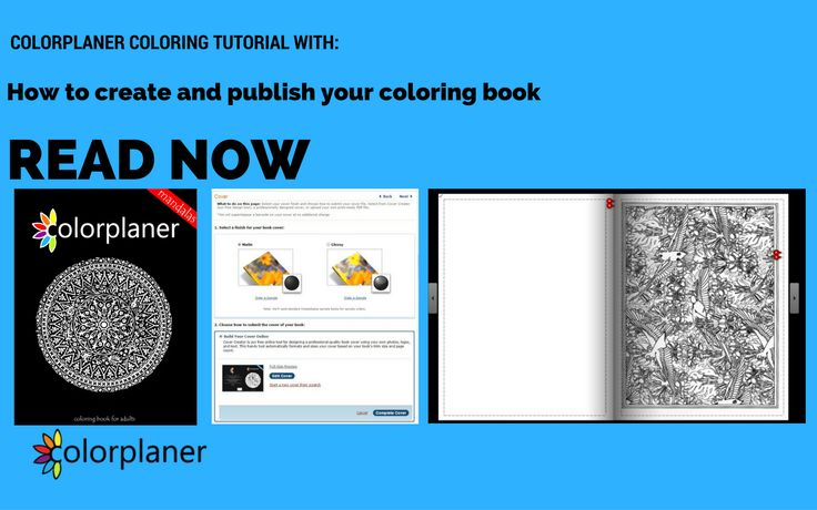 In this course, you will learn how to create and publish your coloring book for FREE!  Read on: http://colorplaner.com/create-coloring-book/