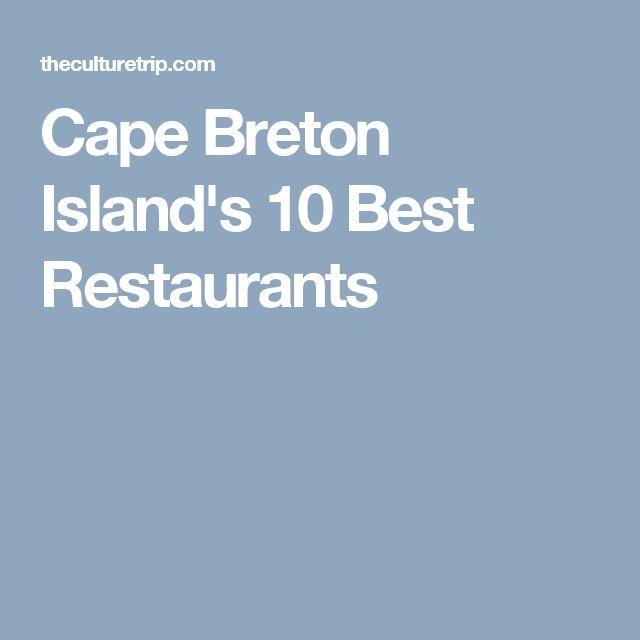 Cape Breton Island's 10 Best Restaurants