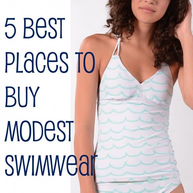 Cute Modest Bathing Suits | Best Places to Buy Modest Swimwear ...