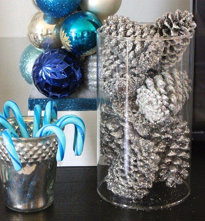 die besten 25 tannenzapfen strau ideen auf pinterest martini wein weihnachtsgestecke und. Black Bedroom Furniture Sets. Home Design Ideas