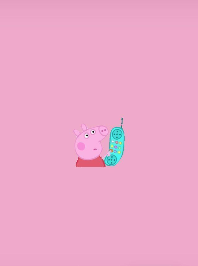 Pin On Peppa Pig Wallpaper Peppa Pig Wallpaper Wallpaper Iphone Cute