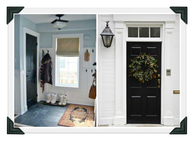 Glorious White Front Door Trim With Victorian Headers And Pilaster Column For Black Doors Frames Added & Best 25+ Exterior door trim ideas on Pinterest | Entry doors ... Pezcame.Com
