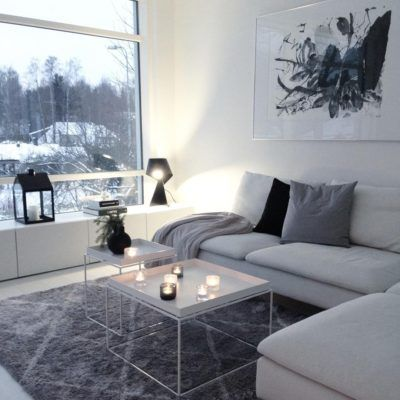 #black&white #cozy #living
