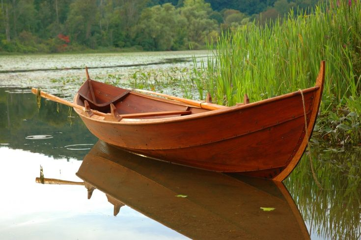 Daniel Oates Faering Launch 10 | Viking boat | Pinterest | Boating, Wooden boats and Small boats