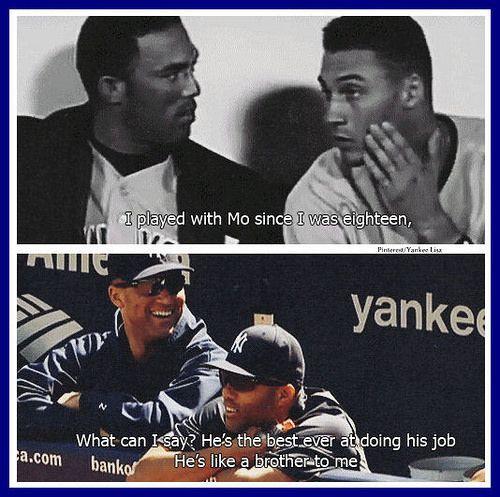 New York Yankees - Derek Jeter and Mariano Rivera