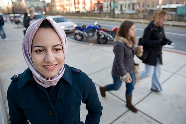 Wearing the Muslim veil in America may cause awkward moments, but this hijabi finds more positive than negative in her choice.